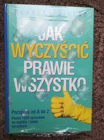Nowa zafoliowana książka Jak wyczyścić parwie wszystko