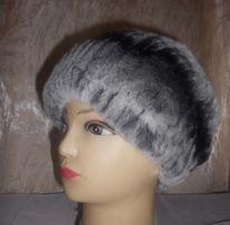Меховая женская шапка из шиншиллы