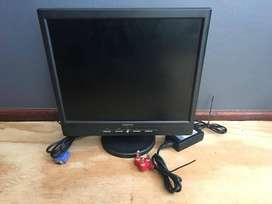 17 Inch Tft Pc Monitor LCD , A16070