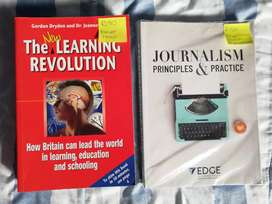 Textbooks, the new learning revolution and journalism