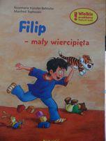 Książka dla dzieci Filip mały wiercipięta, nowa