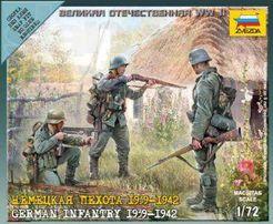 Солдатики 1/72 Звезда - Пехота Вермахта, Великая Отечественная