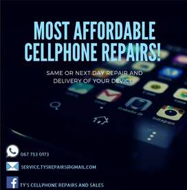 MOST AFFORDABLE CELLPHONE REPAIRS SAME DAY