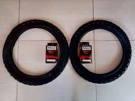 Bicycle Tyre Kit 16X1.75/1.95. Two outer plus two inner tyres.