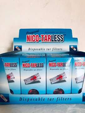 NICOTARLESS(TM) Disposable Tarfilters-Distributors Required