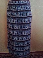 Легка летняя юбка с запАхом