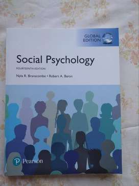 Social Psychology by Nyla R. Branscombe and Robert A. Baron (14th ed)
