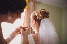 Ozdoba weselna do włosów
