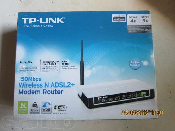 Модем c wi-fi TP-LINK TD-W8951ND