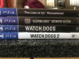 Action Packed PS4 Game Bundle For Sale