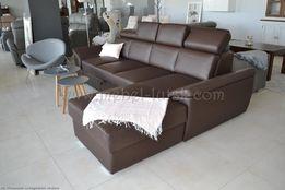 Новый Кожаный Угловой диван Premium класса Cayenne. Польша
