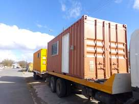 6m x 2.4m Basic Office Container Monthly Rental Komani