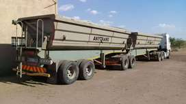 SA Truck 45 cube Side Tippers