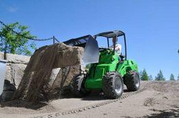 Аренда минипогрузчик, погрузчик, мини трактор AVANT (Финляндия)