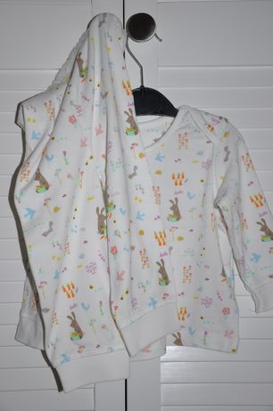 MOTHERCARE Dziewczęca piżamka w zwierzątka leśne 9-12 miesięcy 74-80cm Wilga - image 1