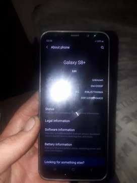 Nearly used Samsung S8 plus