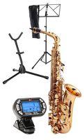 NOWY zestaw profesjonalny saksofon altowy KIRSTEIN + dodatki złoty M41