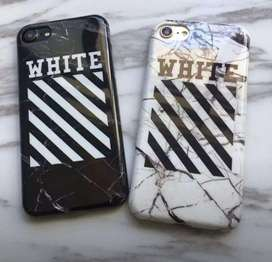 Off White  iPhone covers