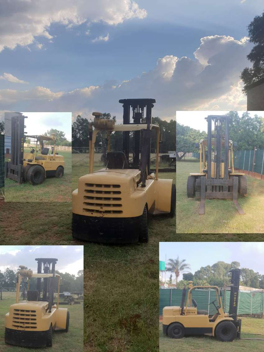 Hyster 5 ton forklift 0