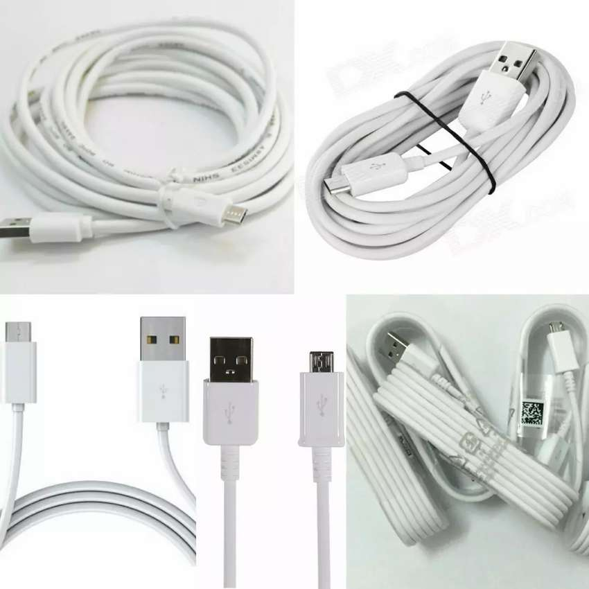 Long Micro USB Cables 1.5 and 3 Metres 0