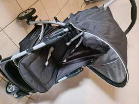Stroller and Camp Cot