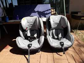 2X JOIE Car Chairs for Sale