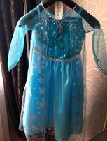Sukienka karnawałowa Elsa Kraina Lodu r 116-122, 5-7 l NOWA