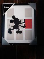 obrazki 33x27 z myszką micki auta zygzak mcqueen 6 szt ramki dekoracja
