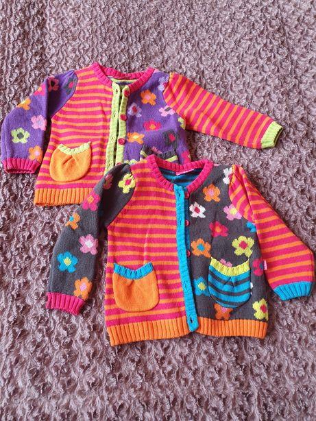 Sweterki Sweterki rozpinane dla bliźniaczek Mielec - image 1