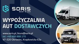 Wynajem Wypożyczalnia bus dostawczych PLANDEKA BRYGADÓWKA BLASZAK 9 OS