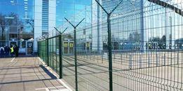 Забор секционный,3Dпанели,еврозабор,ограждение из сварной сетки