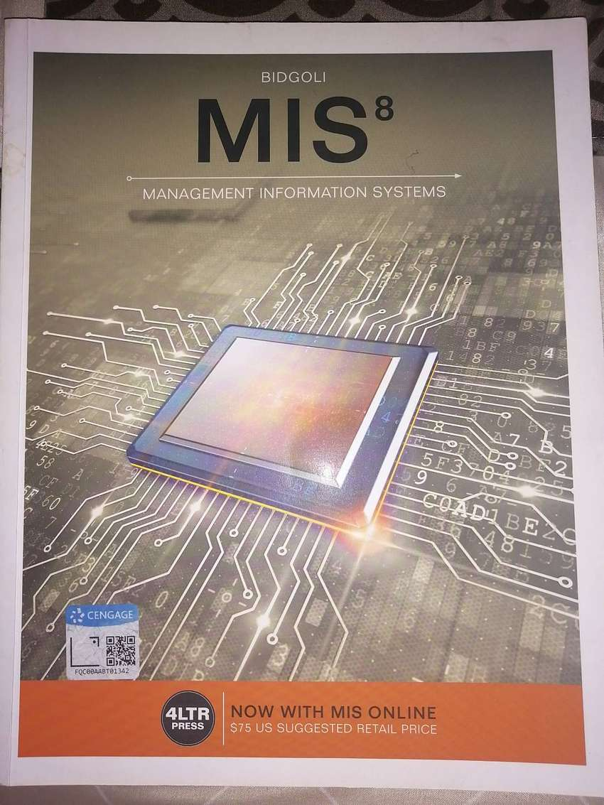 MIS 8 Management Information systems