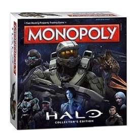 Halo Universe in this special edition MONOPOLY. New