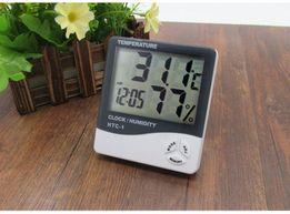 Термометр гигрометр часы HTC-1 ТА318 измеритель влажности метеостанция