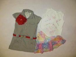 Платье сафари Girl2girl, юбка и кофта Next, летнее платье, сарафан