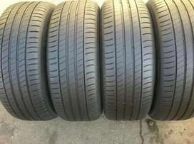 4×205/55/16 MICHELIN tyres for sale
