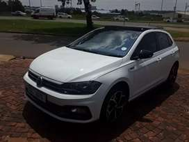 2019 VW Polo 8 1.0TSI Rline Highline Automatic Sunroof
