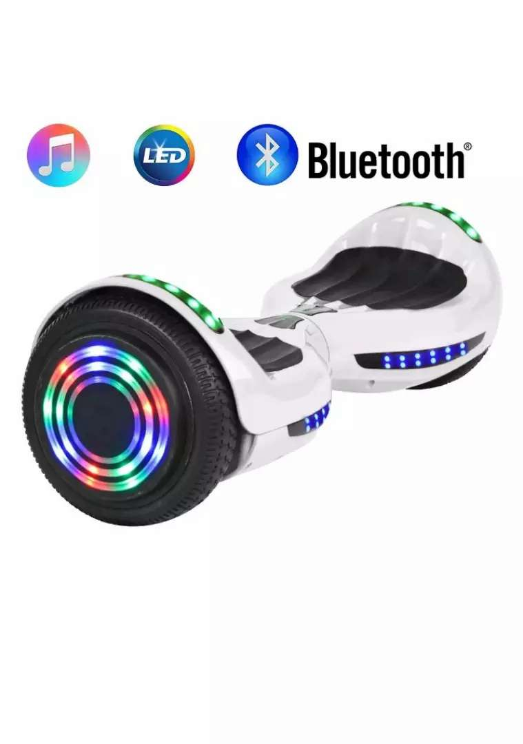 """6.5"""" Bluetooth LED Hoverboard self Balancing electric scooter UL2272 0"""