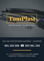 TomPlast -Naprawa, spawanie plastiku Luboń