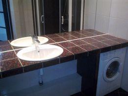 Укладка плитки, ремонт Ванной, Сантехнические работы