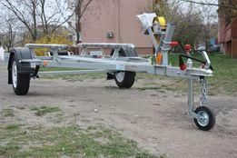 Прицеп для перевозки надувных лодок (ПВХ или Хайпалон) до 3,8 м