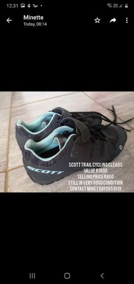Scott Trail cycling cleads