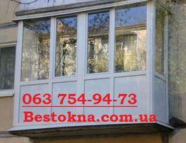 Металлопластиковые окна.Остекление квартир и частных домов