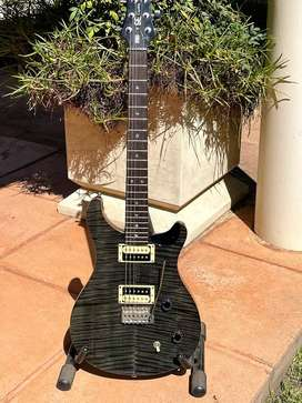 PRS SE Custom 22 Grey/Black Electric Guitar (Incl Case, Strap & Stand)