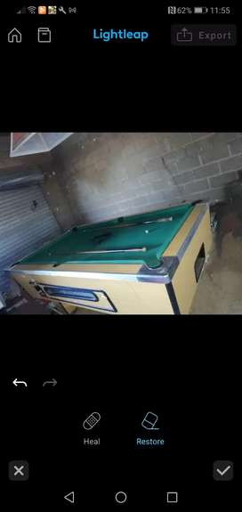 Pool table for sale for R4, 000