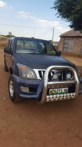 I am selling  Gonow x-space double cab  .start and go