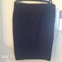 Продам юбку-карандаш черную Stefanel+ подарок