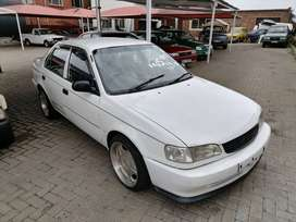 Toyota corolla 160igle with mags