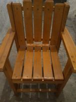 Krzesełko drewniane dla dziecka