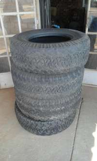 Image of Used BF Goodrich All Terrain Tyres for sale